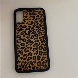 Leopard WildFlower Case